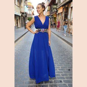 vestido-escote-en-v-azul-tinta