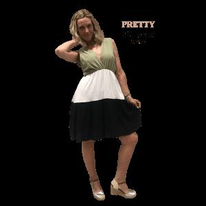 vestido-corto-tricolor