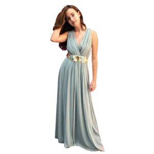 Vestido de fiesta estilo griego tul