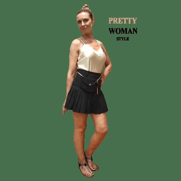 falda-negra-plisada