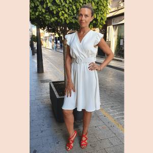 vestido-casual-de-escote-cruzado