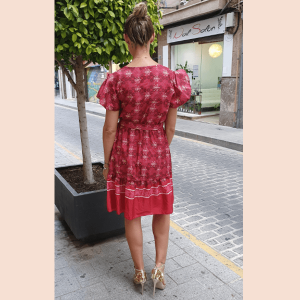 vestido-corto-casual-color-vino
