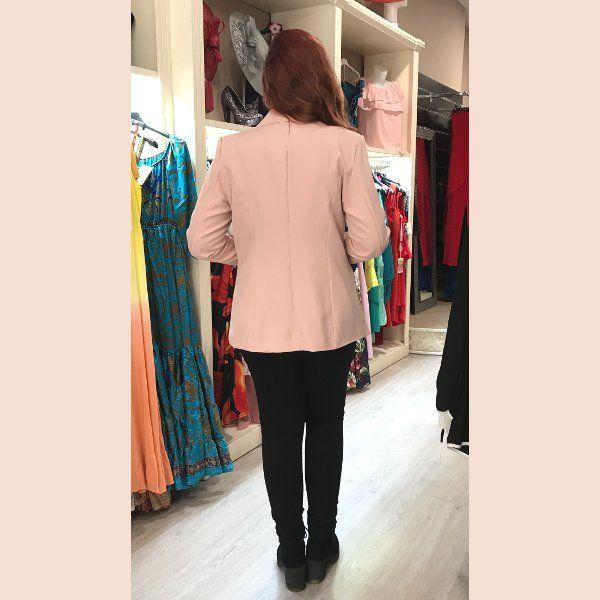 chaqueta-americana-rosa-palo-pretty-woman-style
