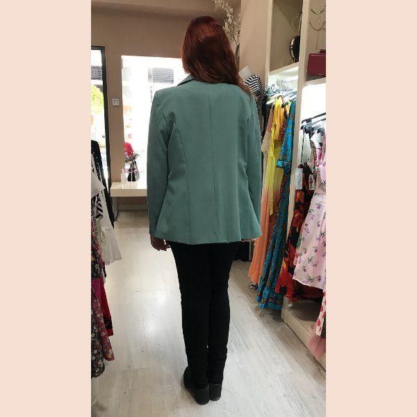 chaqueta-americana-azul-turquesa-pretty-woman-style