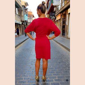 vestido-corto-rojo