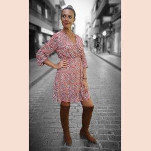 vestido-rosa-de-gasa-estampado