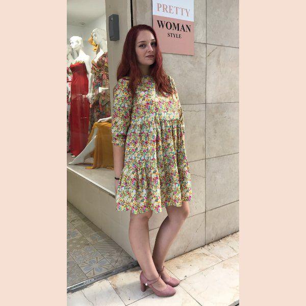 vestido-de-florecillas-amarillo