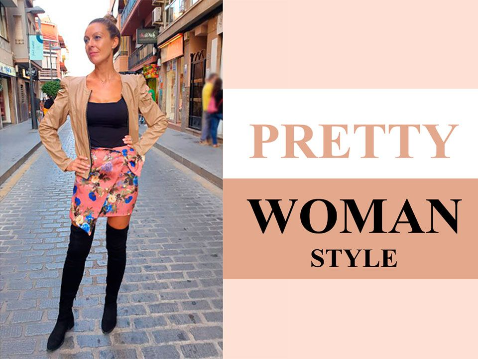 Beige y marrón en Pretty Woman Style
