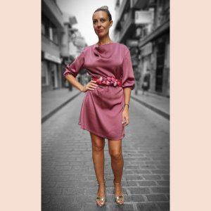 vestido-de-coctel-ablusonado