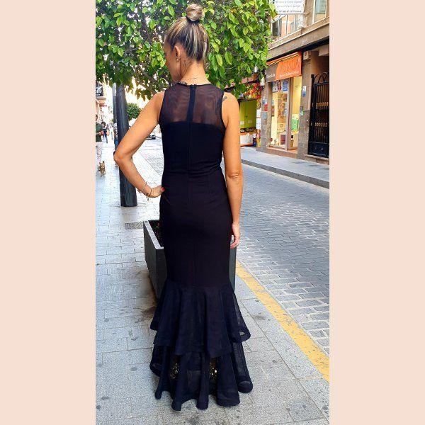 vestido-negro-de-sirena-trasera