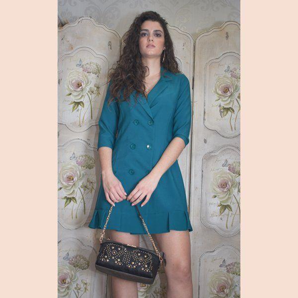 vestido-blazer-verde-petroleo