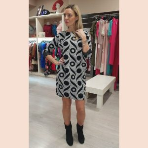 vestido-casual-de-manga-francesa