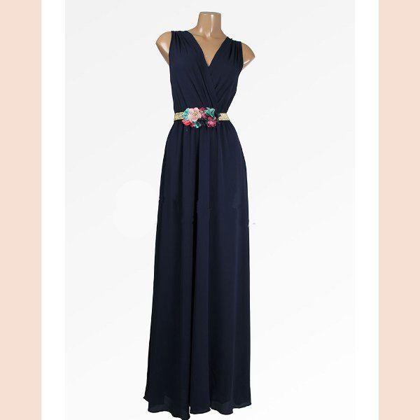 vestido-de-fiesta-con-escote-cruzado-azul-marino