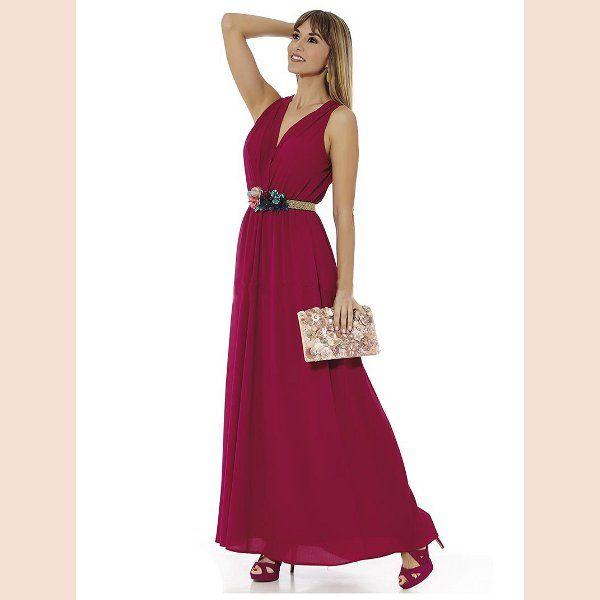 vestido-de-fiesta-con-escote-cruzado-bugambilla