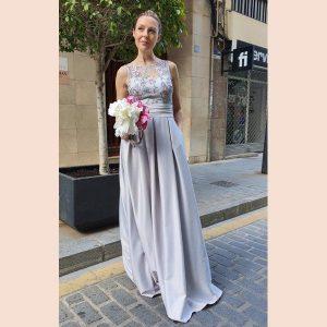 vestido-largo-mikado-con-cuerpo-de-blonda