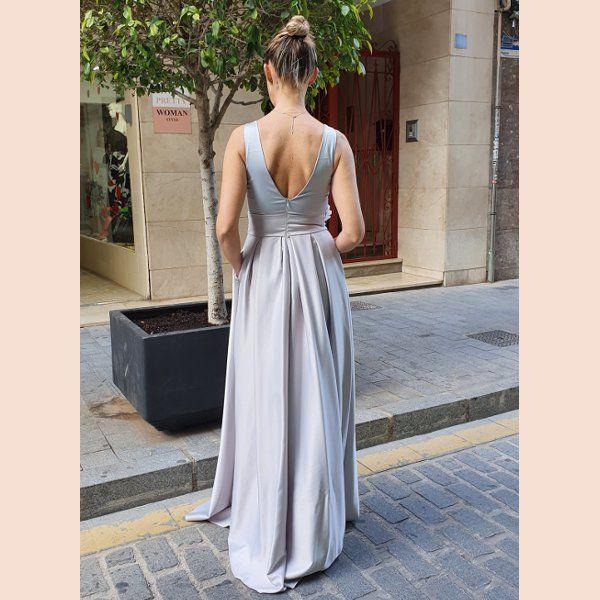 vestido-largo-mikado-con-cuerpo-de-blonda-trasera
