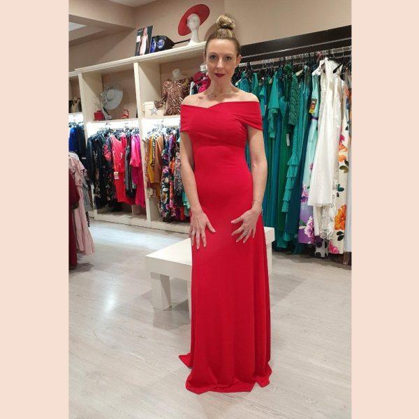 vestido-largo-de-fiesta-rojo-con-pecho-cruzado