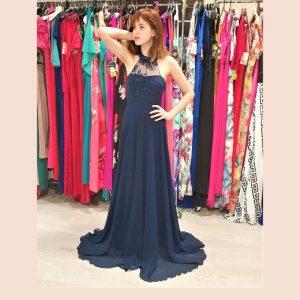 vestido-largo-azul-noche-de-tul-frente