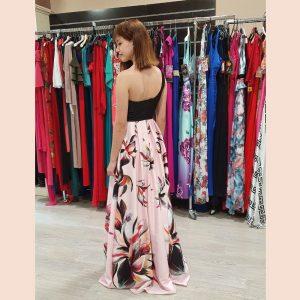 vestido-largo-de-fiesta-asimétrico-con-falda-rosa-trasera